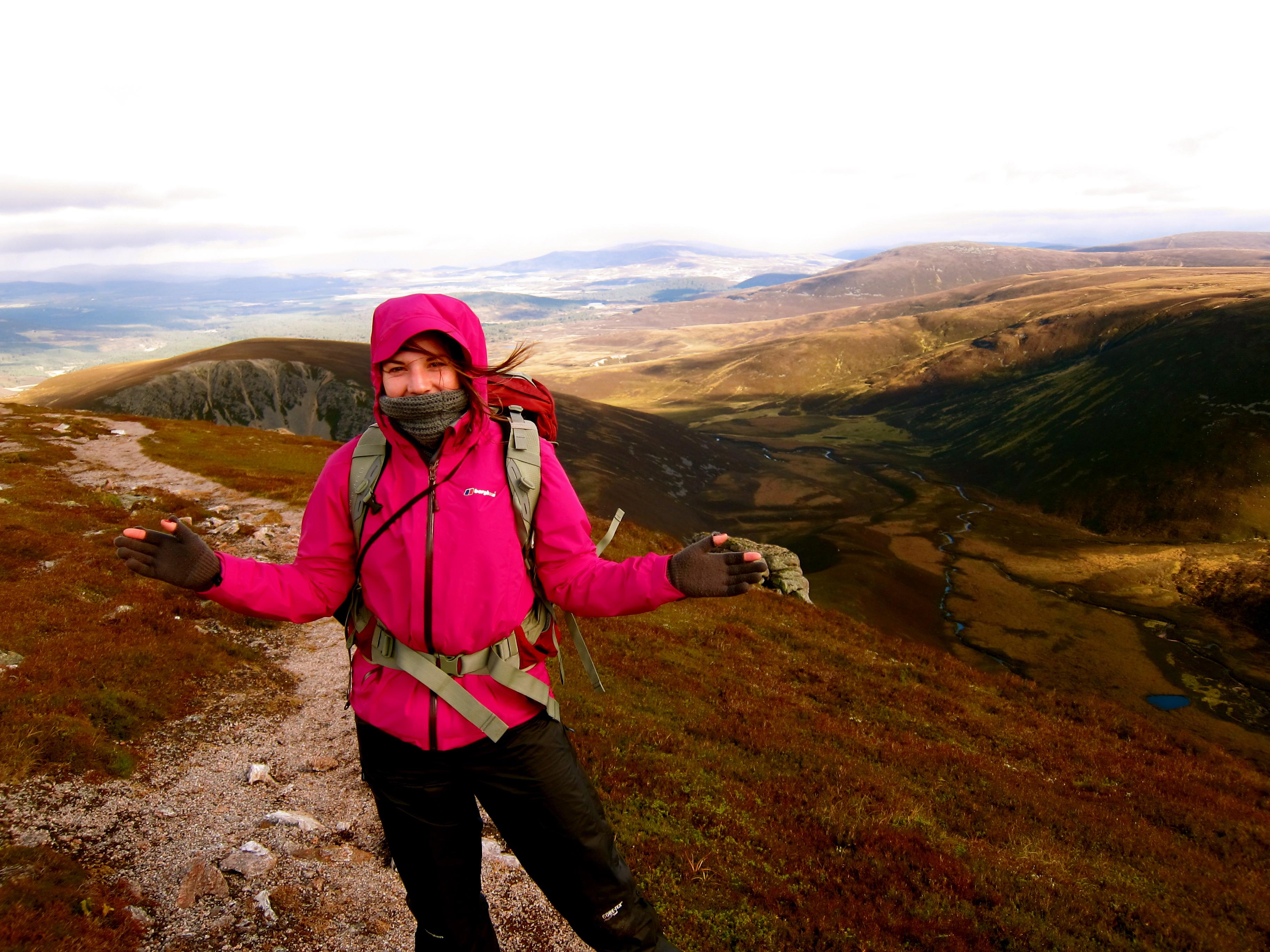 mountain range in scotland